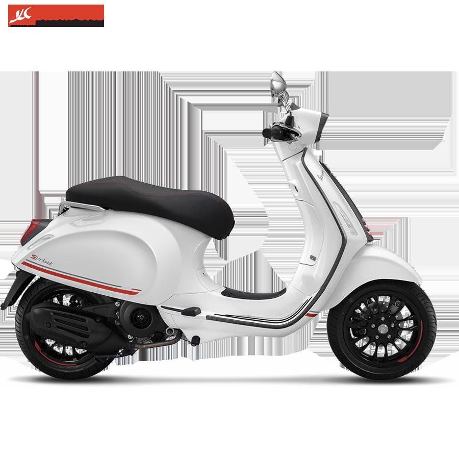 Vespa Sprint 125 IGET ABS Carbon White